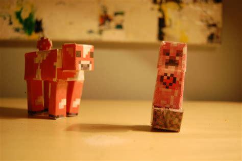 Minecraft Papercraft Collection - minecraft papercraft block collection diy