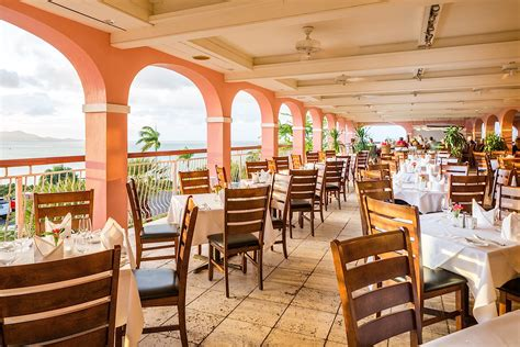 terrace dining room terrific tuesdays at the buccaneer in st croix luxe
