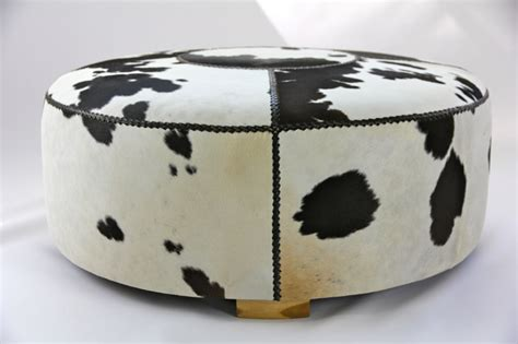 cowhide ottoman for sale cowhide ottoman two girls and a container