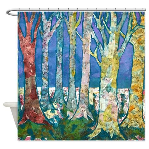 tapestry shower curtain tree tapestry 2 shower curtain by schulmanart