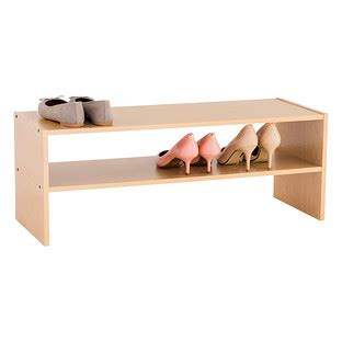 shoe stacker storage 2 shelf shoe stacker the container store
