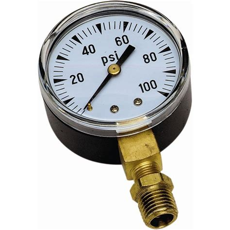 Ideas For Kitchen Organization by Flotec 100 Psi Pressure Gauge Tc2104 The Home Depot