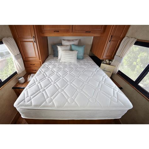 Zinus Deluxe Spring Pillow Top 10 in. Short Queen RV Mattress HD SPP 10SQ The Home Depot