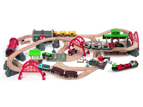 brio train track pieces christmas 2015 10 best wooden train sets the independent