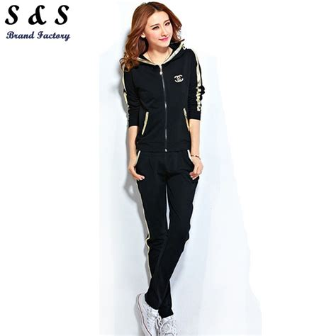 Sportwear Set 2015 sport suit clothing twinset set cardigan sportswear casual hoodies womens sports