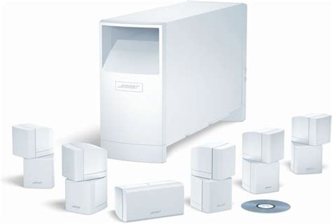 bose acoustimass  series ii speaker system includes
