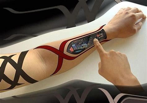 tattoo tech wearable tech 6 future tech zdnet