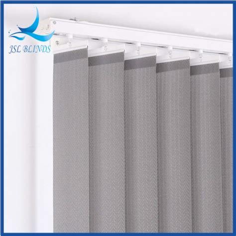 Tirai Jendela Aluminium tirai vertikal 5 tirai jendela vertikal abu abu dan