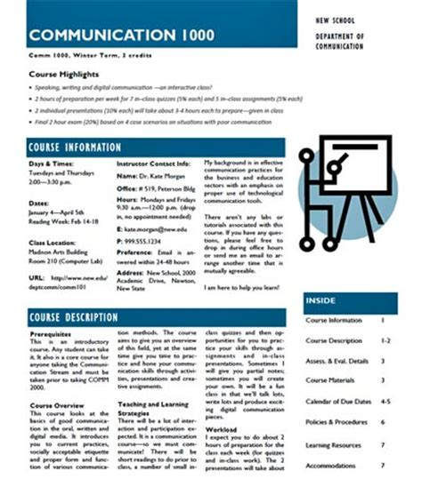 syllabus design template developing designing a comprehensive course outline