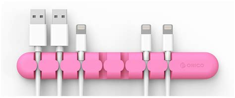 Orico Cbs7 Desktop Multipurpose Cable Manager Pink orico desktop cable management pink syntech