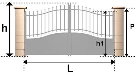 Portail Garage Standard by Portail Coulissant Standard Automatisme Porte Garage