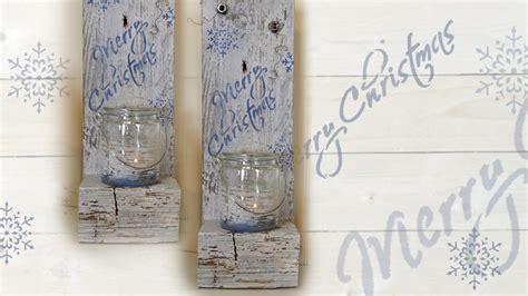 Kerzenhalter Palette by Diy Shabby Chic Kerzenhalter Candle Holder Aus Einer