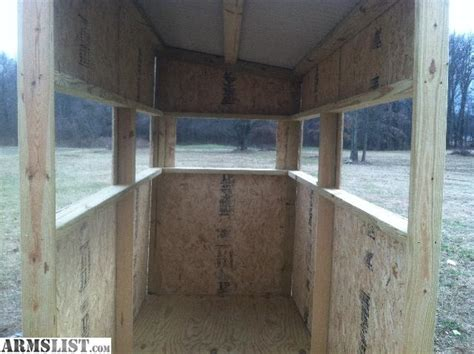 House Blinds For Sale Armslist For Sale Trade Deer Blind Shooting House