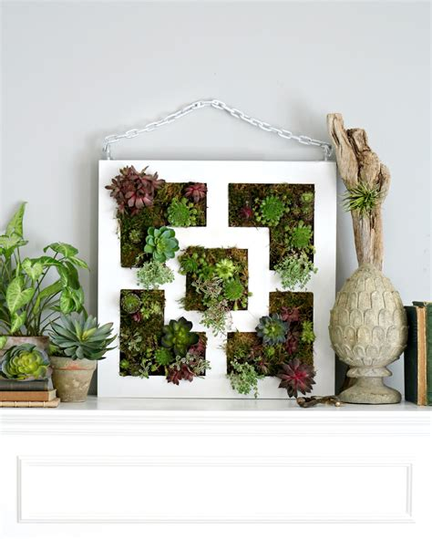 ikea vertical garden ikea lack table hack to succulent vertical garden