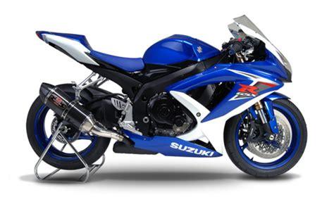 08 Suzuki Gsxr 750 Yoshimura R 77 Carbon Fiber Slip On Exhaust Suzuki Gsxr