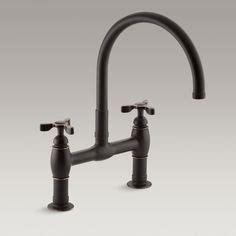 kohler parq two hole deck mount kitchen sink faucet with 9 1000 images about zen faucets kitchen on pinterest