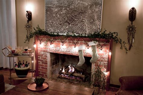string lights for fireplace 30 ways to create a ambiance with string lights