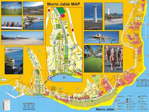 el magic resort map fuerteventura map from morro jable y jand 237 a