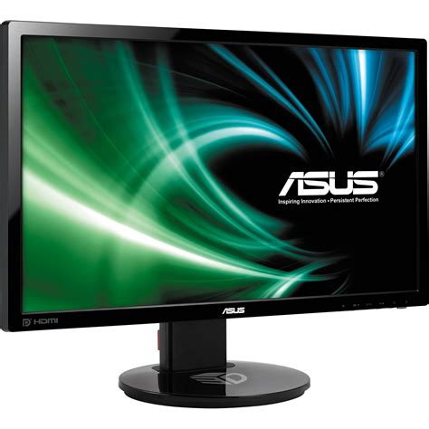 Monitor Led Asus asus vg248qe 24 quot led backlit lcd monitor vg248qe b h photo