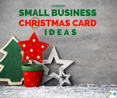 5 creative small business christmas card ideas