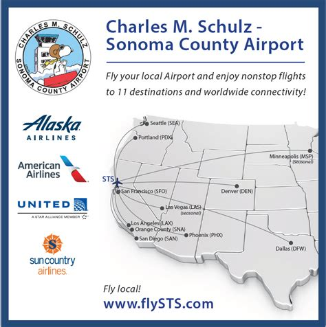 guide  sonoma county airport sts sonomacountycom