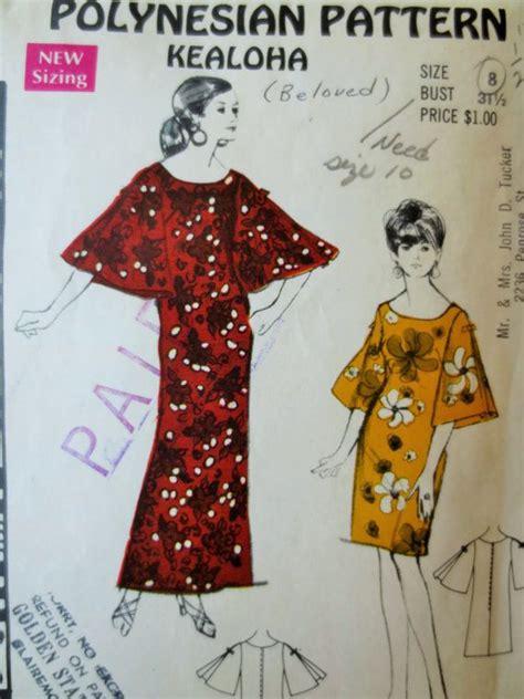 pattern hawaiian dress 167 best hawaiian sewing patterns images on pinterest