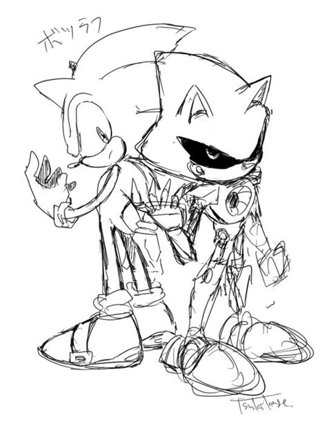 metal mario coloring pages sonic and metal sonic sonic pinterest posts and metals
