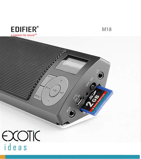 Speaker Usb Mp3 edifier m18 mp3 player fm stereo speaker with powerful