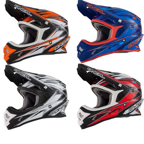 oneal motocross helmets oneal 3 series hurricane motocross helmet motocross