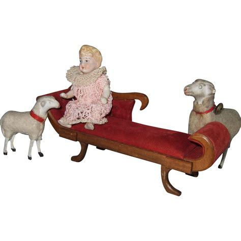 chaise lounge vintage vintage miniature chaise lounge from shirleydoll on ruby lane