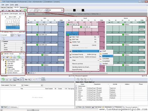 make changes and manage calendar task management software for shift managers
