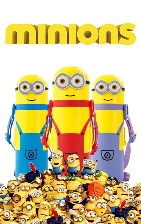 Thermos Flask 350ml Tupperware minion bullet vaccum flask thermos cup 350ml