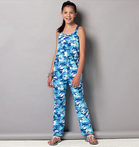 jumpsuit sewing pattern 2015 169 2015 mccall s sewing pattern 7151 girls 7 14 jumpsuit