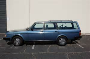 1984 Volvo Wagon 1984 Volvo 240 Wagon Gl Classic Volvo 240 1984 For Sale