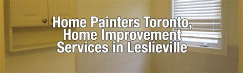 leslieville home improvement services