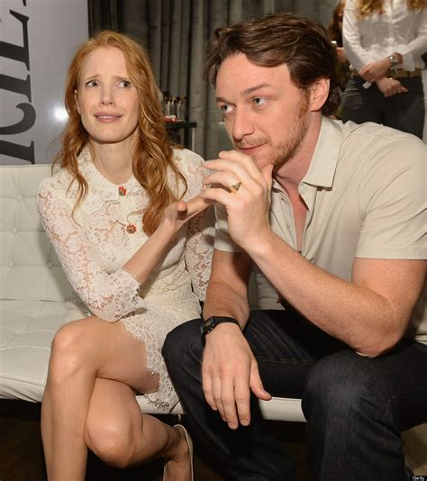 james mcavoy grandparents jessica chastain tiff 2013 the help star puts the