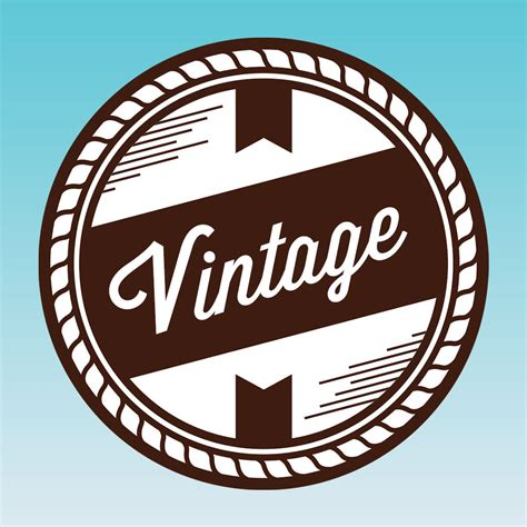 Vintage Design Logo Maker | vintage design logo wallpaper creator diy on the app store
