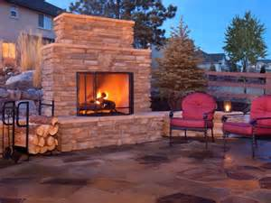 Building Outdoor Fireplace With Cinder Blocks - how to plan for building an outdoor fireplace hgtv