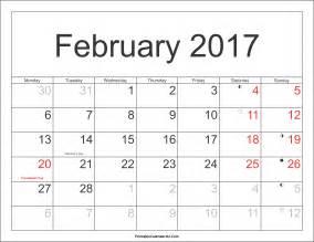 Netherlands Calendario 2018 February 2017 Calendar With Holidays Monthly Calendar