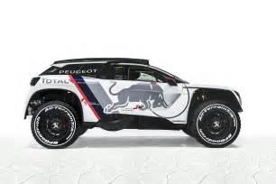 Peugeot Rally Dakar Peugeot 3008 Voici La Version Dkr Pour Le Dakar 2017