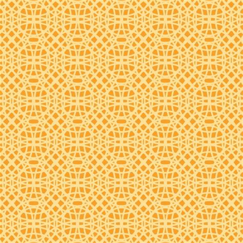 yellow pattern ai pattern with yellow circles on orange background vector