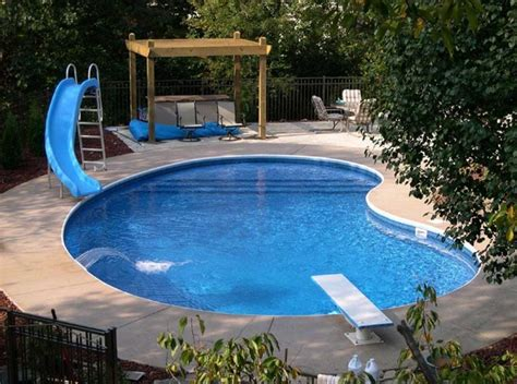 small pool design inspiring small swimming pool design ideas with slide