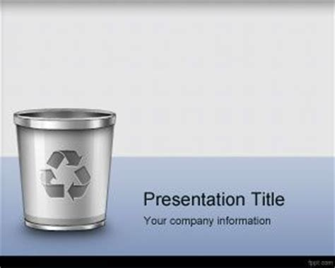 Waste Management Powerpoint Template by Waste Management Powerpoint Template