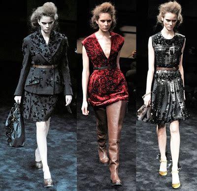 Rumpled Charm From Prada Milan Fashion Week 2009 by Milan Fashion Week Favorites So Far