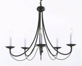 gallery chandelier a7 403 5 gallery wrought without wrought iron