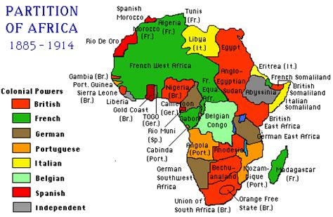 Sections Of Africa by Scramble For Africa How The Continent Became