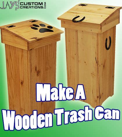 where to learn woodworking free diy project plan learn how to make a wooden trash