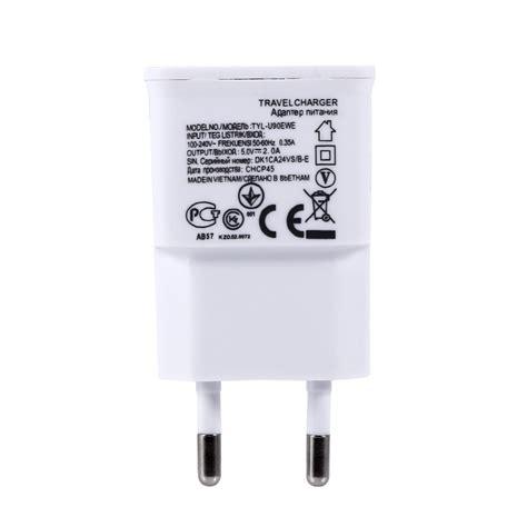 Eu 5v Usb Charger Adapter universal dual usb eu 5v 2a wall travel power charger