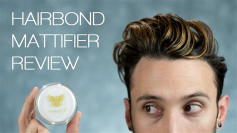 Hairbond Mattifier hairbond mattifier hair cement review s hair