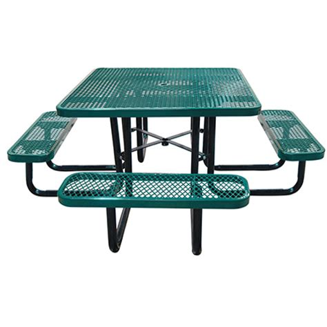 Commercial Patio Tables And Chairs Commercial Outdoor 46 Quot Square Expanded Metal Table Select Your Color Bar Restaurant